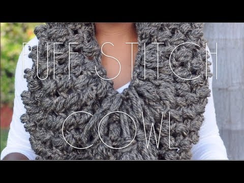 Puff Stitch Cowl Youtube