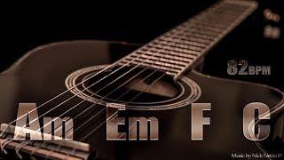 Скачать Acoustic Guitar Ballad Backing Track A Minor