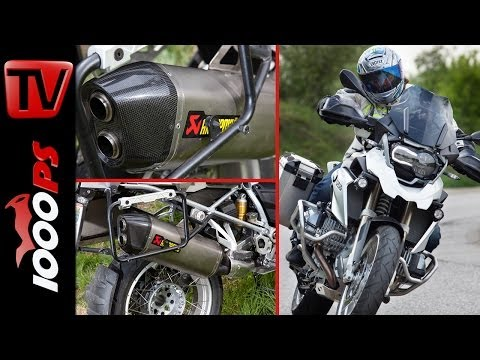 BMW R 1200 GS - 2014 Leistungstuning | Akrapovič + PowerCommander