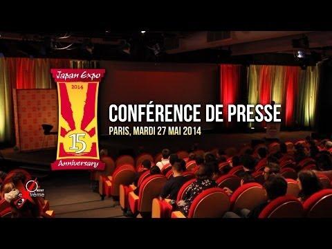 JAPAN EXPO 2014 conférence de presse à Paris le 27 mai 2014
