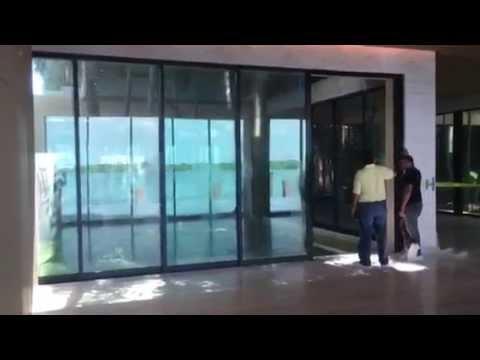 Fleetwood Automated Sliding Door By Sunex Youtube
