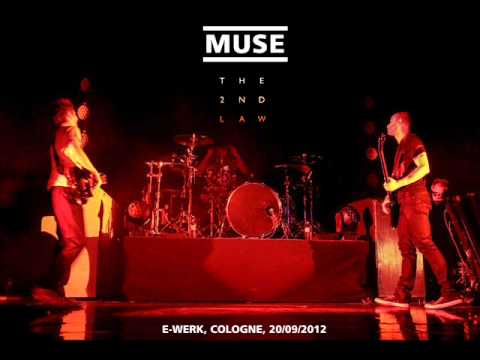 Muse - The 2nd Law (Live debut) @ E-Werk Cologne [Full audio of 2nd Law Songs]