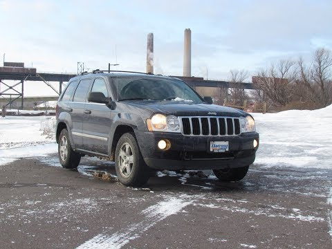2005 Jeep Grand Cherokee Limited Review and Test drive