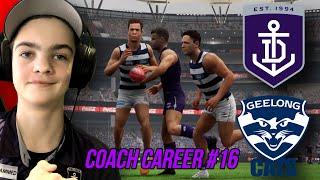 A GAME FOR THE AGES! (AFL Evolution 2 Fremantle Coach Career #16)