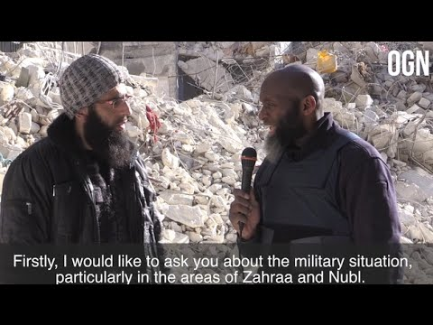 Interview w/Ahrar Sham Commander Regarding Military Developments