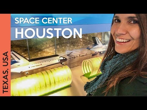 Vlog visiting NASA's JSC & Space Center Houston in Texas