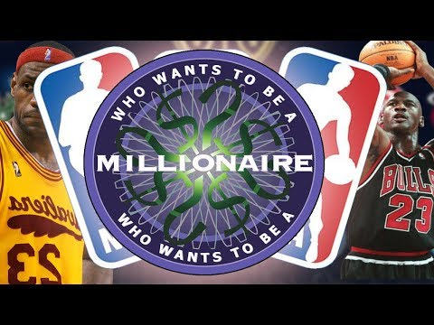WHO WANTS TO BE A MILLIONAIRE | NBA EDITION