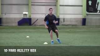 10-yard Agility Box - Quicker First Step | Nike Hockey Training