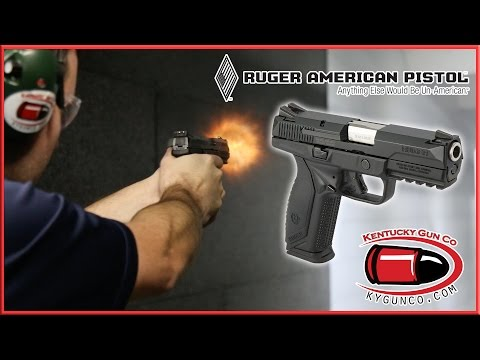 Ruger American Pistol Range Review - YouTube
