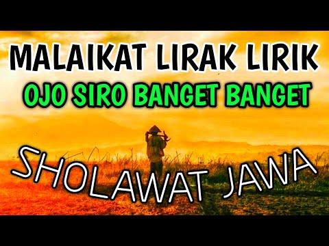 Sholawat Jawa Ojo Siro Banget Banget Aku Iki Mung Sak Dermo Pujian Sebelum Sholat Merinding