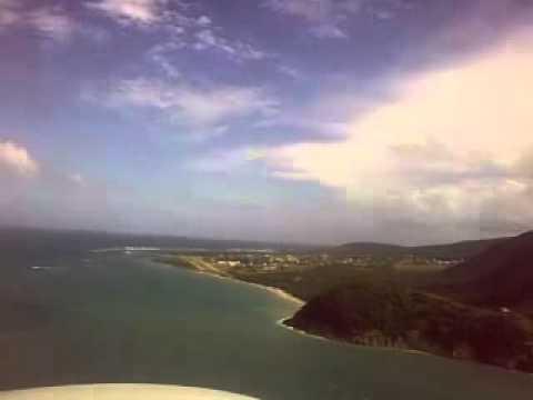 Landing Newcastle Nevis RWY 10 (TKPN).mp4