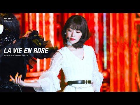 190123 아이즈원(IZ*ONE) 가온차트 뮤직어워즈 '라비앙로즈(La Vie En Rose)' 미야와키 사쿠라(Miyawaki Sakura) 직캠 by 김이모 - 4K