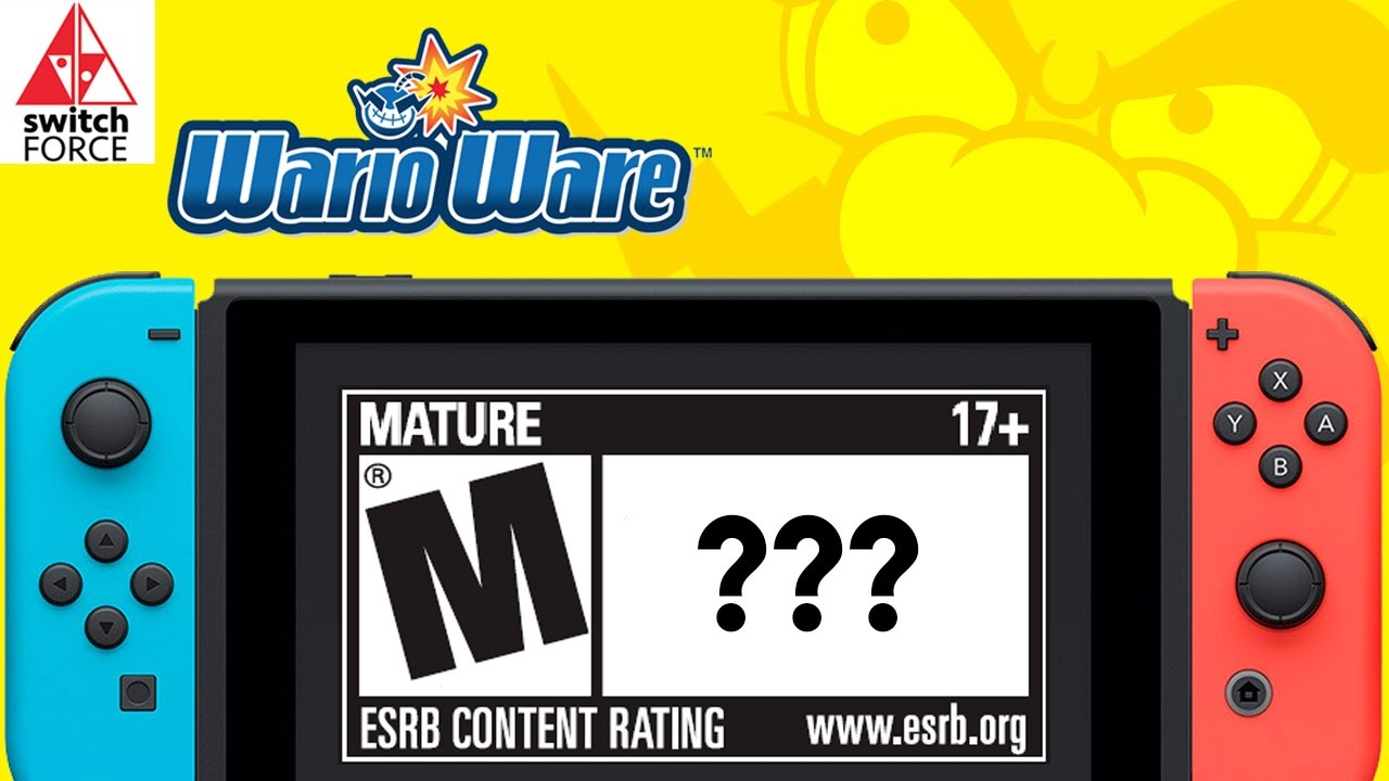 New Mature Rated Switch Games Warioware On Switch