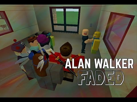 Roblox Bully Story Faded Remix Alan Walker Youtube