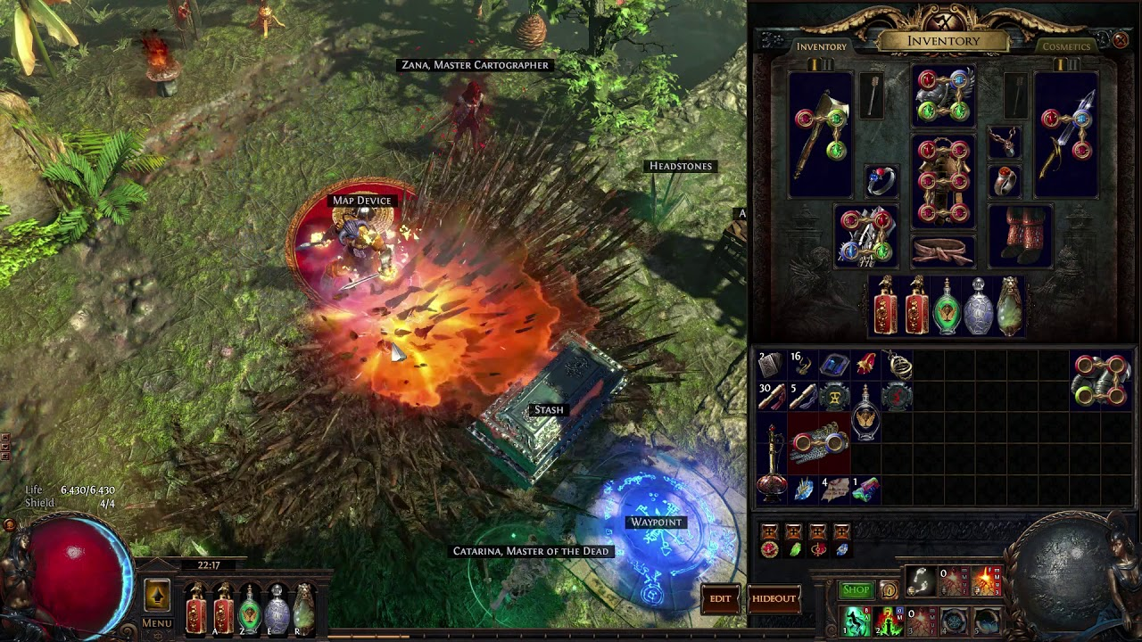 Path Of Exiles 3 3, Vaal Ground Slam, Dual Wielding, Rage Beserker, Fast  Mapper Build Guide