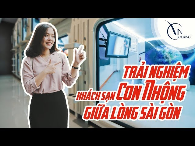 Vietnam Booking   Trải nghiệm Khách sạn Con Nhộng ở Việt Nam ngay giữa lòng Sài Gòn