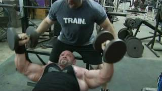 Branch Warren Chest Training with Josh Bryant at Metroflex