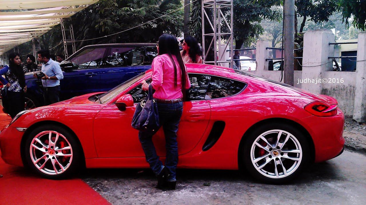 Supercars Kolkata Porsche Cayman S Judhajit Youtube