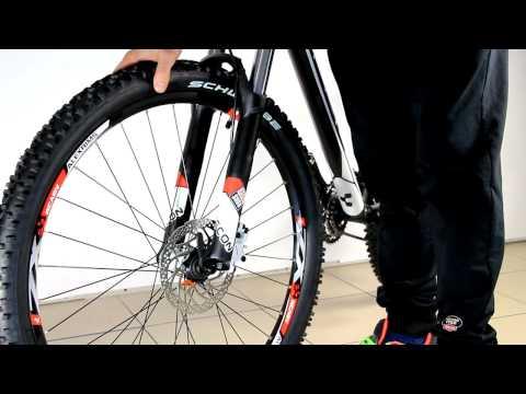 Сборка велосипеда. Руль и переднее колесо
