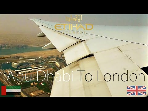 ✈FLIGHT REPORT✈ Etihad Airways, Abu Dhabi To London, Boeing 777-3FXER, A6-ETN, EY19
