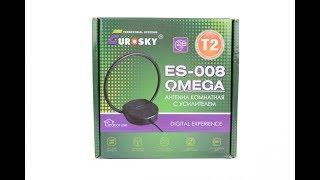 Комнатная Т2 антенна с усилителем Eurosky ES-008 OMEGA : обзор и тест + бонус - модернизация!