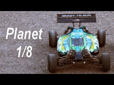 HSP PLANET 1/8 Brushless RC 2,4Ghz Toma de Contacto