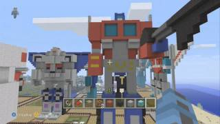 My Transformers World In Minecraft