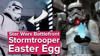 Star Wars Battlefront's Stormtrooper Easter Egg