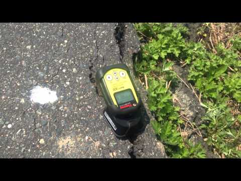 Road trip to Fukushima (taking geiger counter measurement)