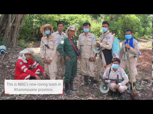 MAG - Roving De-Mining Team