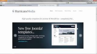Ein neues Template installieren - Joomla! 2.5