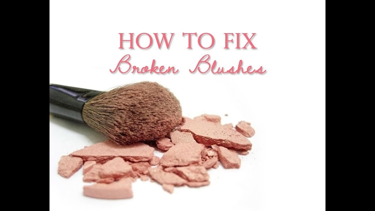 How To Fix Broken Pressed Powder Makeup - Mugeek Vidalondon