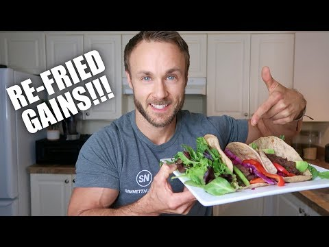 EASY REFRIED BEANS (HIGH PROTEIN WRAPS)