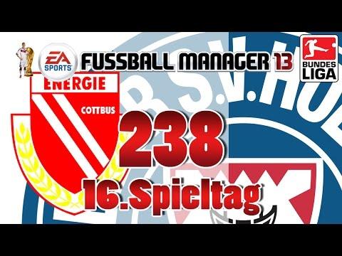 Fussball manager lets play 238 16 spieltag  energie cottbus fm lp 2014 karriere