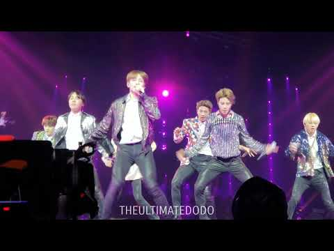 180922 DNA @ BTS 방탄소년단 Love Yourself Tour in Hamilton Fancam 직캠