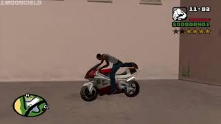 How to get all of the Satchel Charges at very beginning of the game - GTA San Andreas