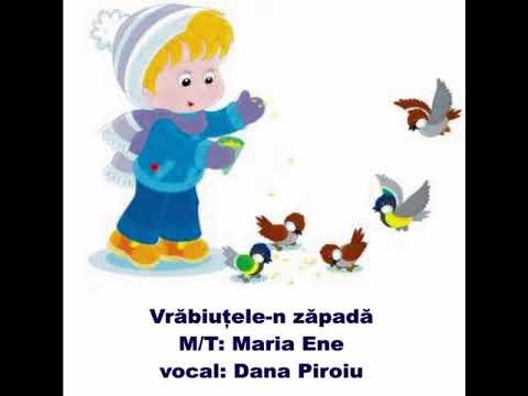 VRĂBIUȚELE-N ZĂPADĂ – Cantece pentru copii in limba romana
