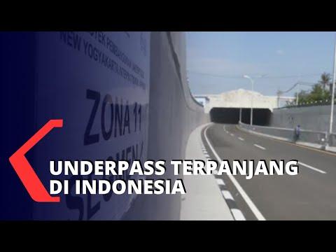 Underpass Terpanjang Di Indonesia Ada Di Yogyakarta