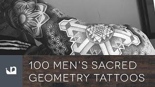 100 Sacred Geometry Tattoos For Men