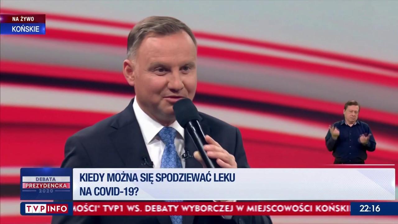 """""""Nigdy się nie zaszczepiłem na grypę, bo uważam, że nie"""" - Andrzej Duda o przymusowych szczepieniach"""