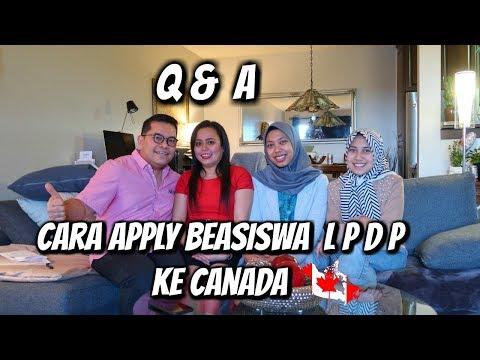 Cara Apply Beasiswa LPDP ke Canada  Part #2