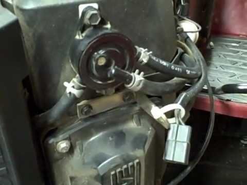 Cub Cadet Lt1042 Wiring Diagram Stem And Leaf Maths Small Engine Repair: Checking A Vacuum Fuel Pump / System On Kohler V-twin - Youtube