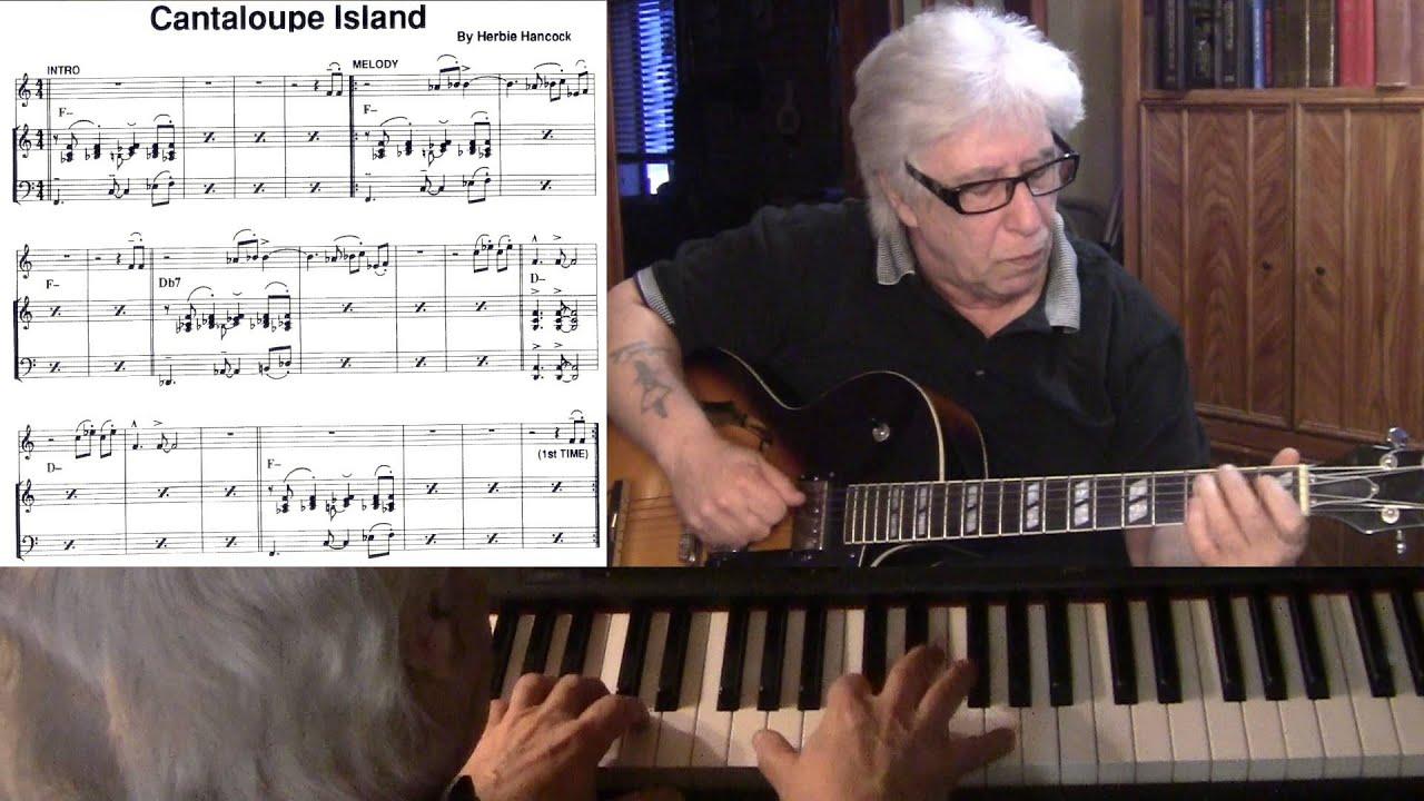 Cantaloupe Island Guitar Piano Jazz Cover Yvan Jacques