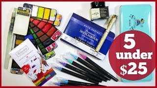 5 Under $25 Gifts for Artists!