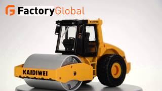 Genuine KAIDIWEI / alloy engineering vehicles series single drum compactor 1:50 FGO-TOY-LH015989