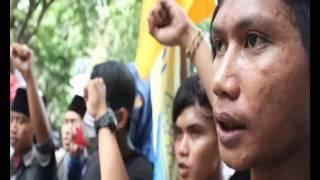Datangi Dinas Pendidikan, PMII Gesik Demo Tolak Pungli Sekolah