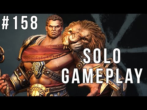 I AM HERCULES!! or just Kevin Sorbo (Smite Solo #158)