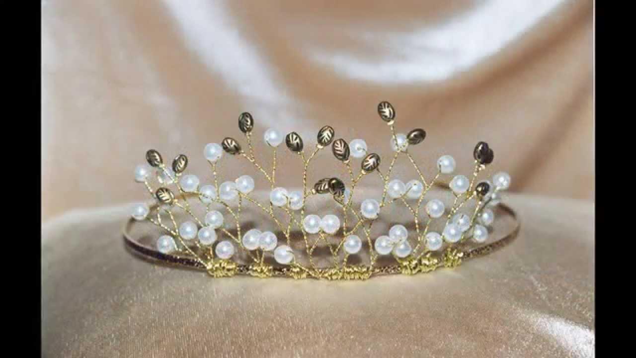 tiara making tutorial - the origin of the bridal headpiece; tiara history