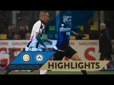 INTER 1-0 UDINESE | HIGHLIGHTS | Ice-cool Icardi! | Matchday 16 Serie A TIM 2018/19