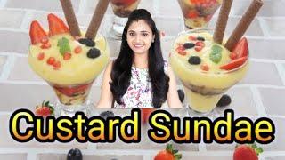 how to make custard recipe